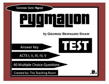 Pygmalion Test (George Bernard Shaw)