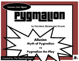 Pygmalion the Play vs Greek Myth Pygmalion (Allusion) George Bernard Shaw