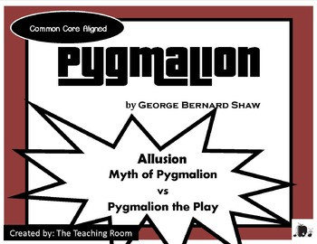 Pygmalion the Play vs Greek Myth Pygmalion (Allusion) George Bernard Shaw