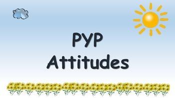 Pyp attitudes posters sun and cloud theme
