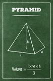 Pyramid - Math Poster