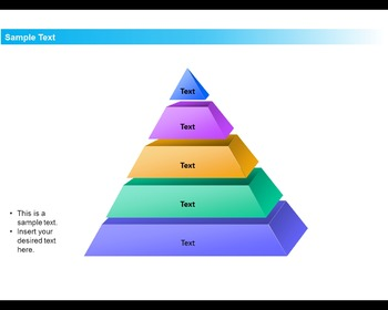 Pyramid 3D Diagram and Template