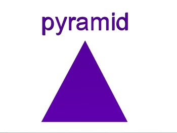 Pyramid - 3D Shape for Whiteboards and Smartboards
