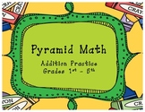 Pyramid Addition Math