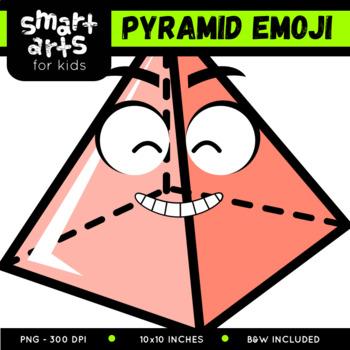 Math Pyramid Emoji Clip Art