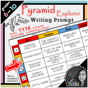 Pyramid Explorer Writing Prompt