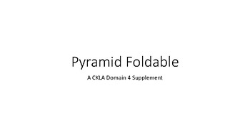 Pyramid Foldable