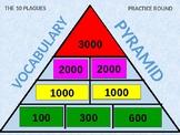 Pyramid Game w/Sound - 10 Plagues