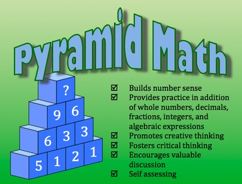 Pyramid Math: Developing the Mathematical Practices