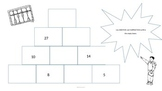 Pyramid Math Puzzle Sample - Let's Get Adding and Subtracting!