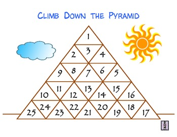 Pyramid Place Value Game
