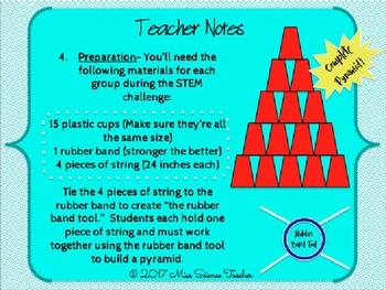 Pyramid STEM Challenge PowerPoint
