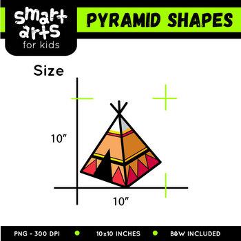 Pyramid Shapes Clip Art