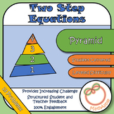 Pyramid: Solving Two-Step Equations