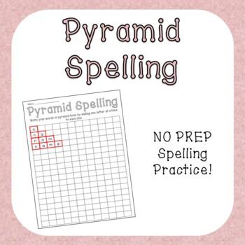 Pyramid Spelling