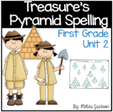 Pyramid Spelling Practice Unit 2 Macmillan/McGraw-Hill Treasures First Grade