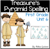 Pyramid Spelling Unit 6 Macmillan/McGraw-Hill Treasures First Grade