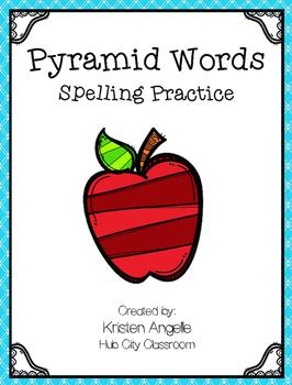 Pyramid Words Spelling Practice (FREEBIE)