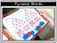 Pyramid Writing: A Word Work Activity