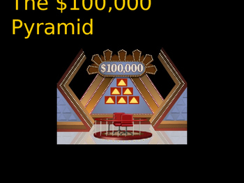 Pyramid game show
