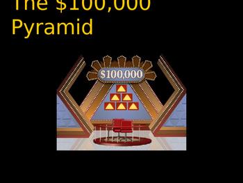 Pyramid game show