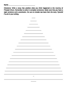Pyramid non-fiction writing