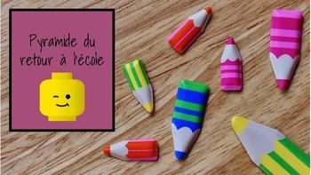 Pyramide: jeu pour le retour à l'école