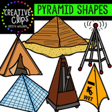 Pyramid Clipart {Creative Clips Clipart}