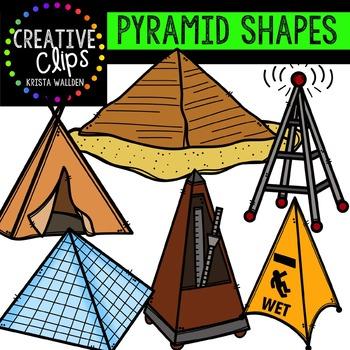 Pyramids {Creative Clips Digital Clipart}