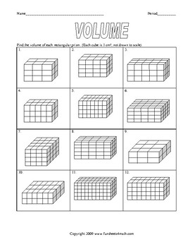 Volume And Surface Area Of Prisms And Pyramids Worksheet Bundle Tpt