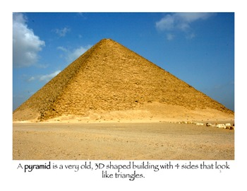 Pyramids of Egypt a Book for Beginning Readers