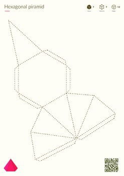 Pyramids - printable nets of 3D shapes