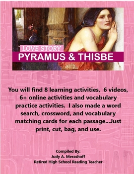 Pyramus and Thisbe from the Metamorphoses