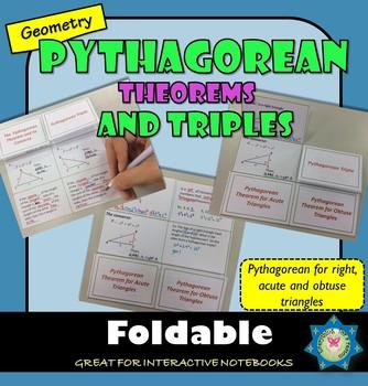 Pythagoran Theorems Foldable