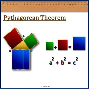 Pythagoras Mathematics Literacy and Comprehension NO PREP NO PRINT Unit