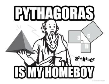 Pythagoras Poster