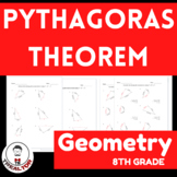 Pythagoras Theorem|Huge Math Worksheets |What is the formu