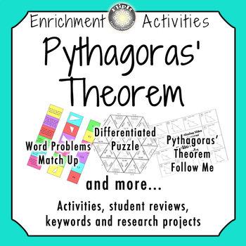 Pythagoras' Theorem Activities