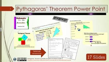 Pythagoras' Theorem Power Point TADO