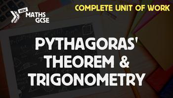 Pythagoras' Theorem & Trigonometry - Complete Unit of Work