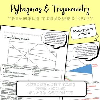 Pythagoras & Trigonometry: Triangle Treasure Hunt