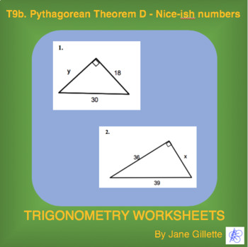Pythagoream Theorem D – Nice-ish numbers