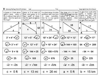 Pythagorean 05: Solving Pythagorean Triangle Word Problems
