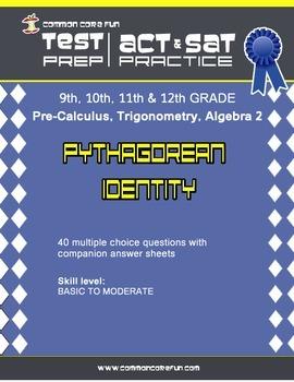 Pythagorean Identity - CST ACT SAT Test Practice