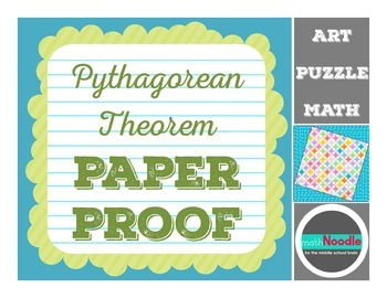 Pythagorean Paper Proof Activity:  Visual Proof Meets Art