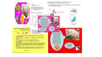 CCSS.MATH.CONTENT.8.G.B.6 Pythagorean Part 1 Hypotenuse SPED/ODD/ADHD/ESL