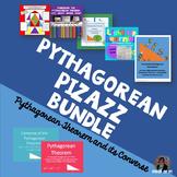 Pythagorean Theorem Converse Bundle 8.G.6 7 8 Activities