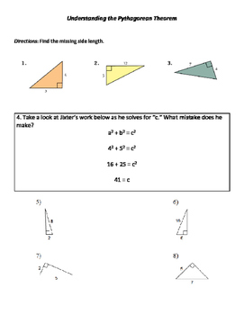 Pythagorean Practice: Random Assortment