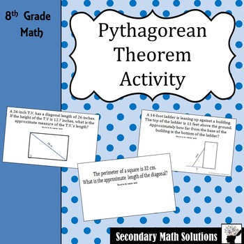 Pythagorean Theorem Activity (Amazing Race) (8.7C)