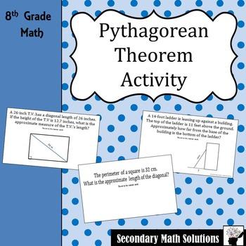 Pythagorean Theorem Activity (Amazing Race) (8.7C)